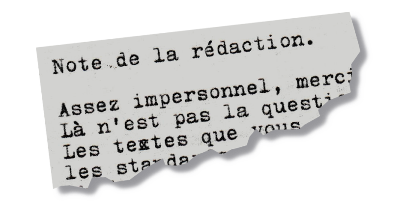 Notes de la rédaction